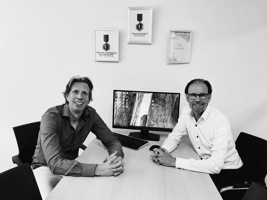 Sander Koole en Jean-Marin van Emmerloot verzekeringen en hypotheken
